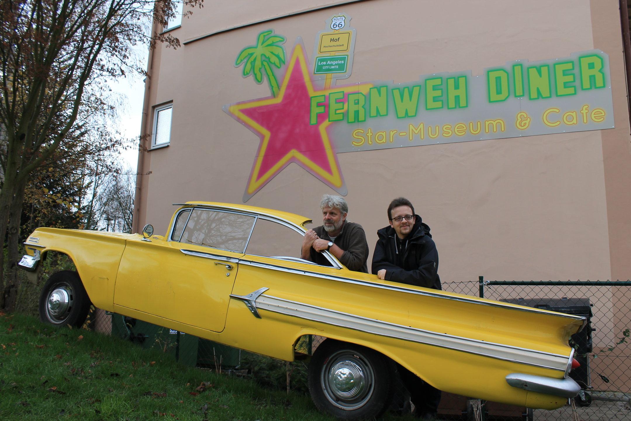 Shiregreen_Klaus & Paul am Fernweh-Diner