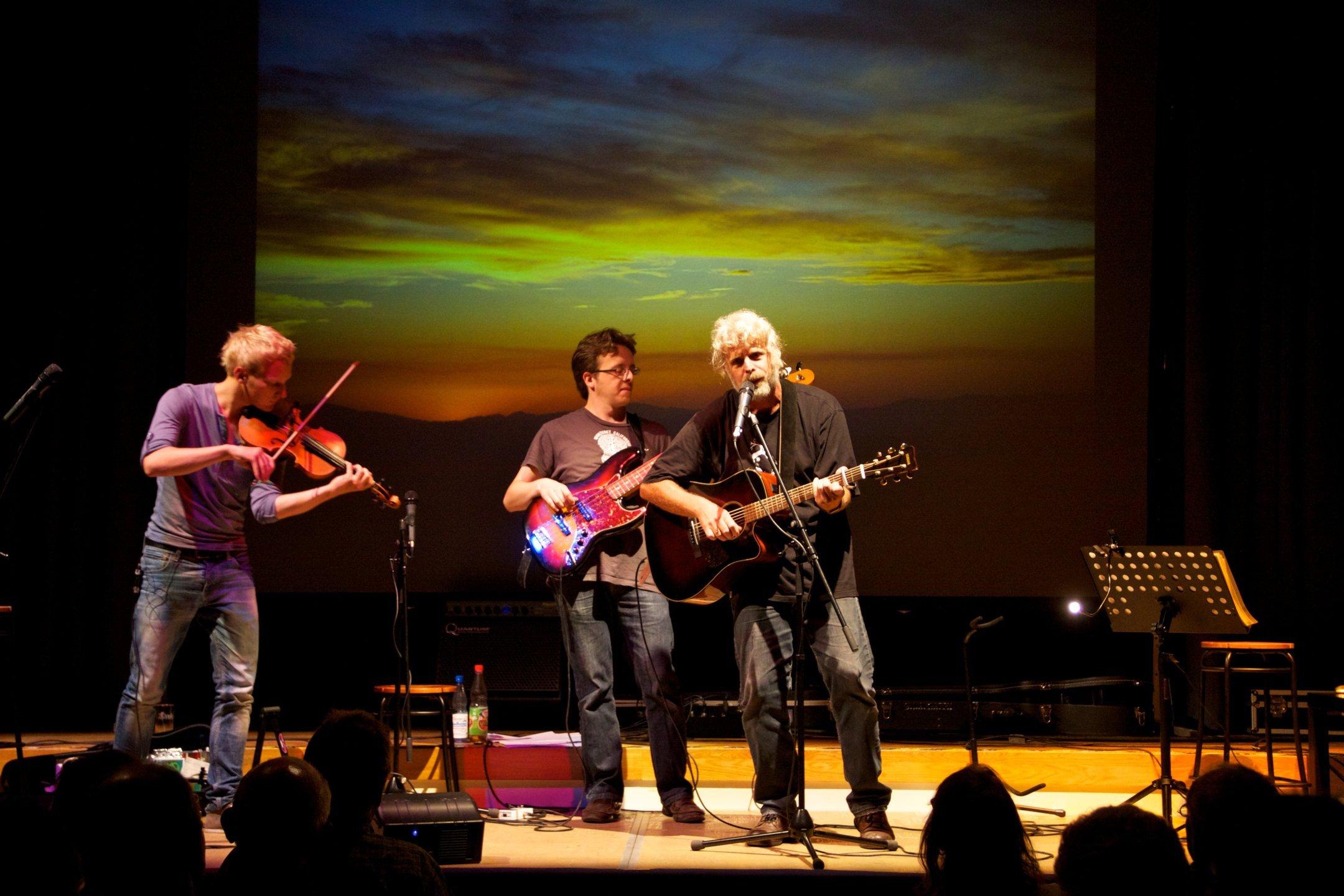 Bilderkonzert Shiregreen Band
