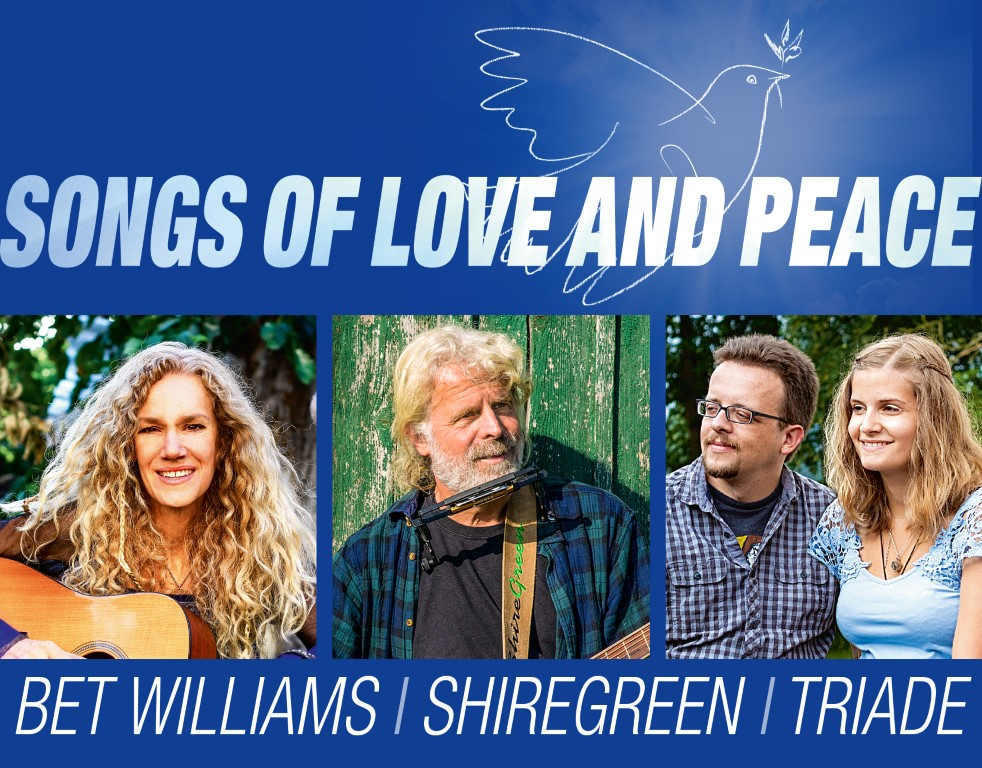Songs of love & peace_Shiregreen_Triade_BetWilliams_BadHersfeld