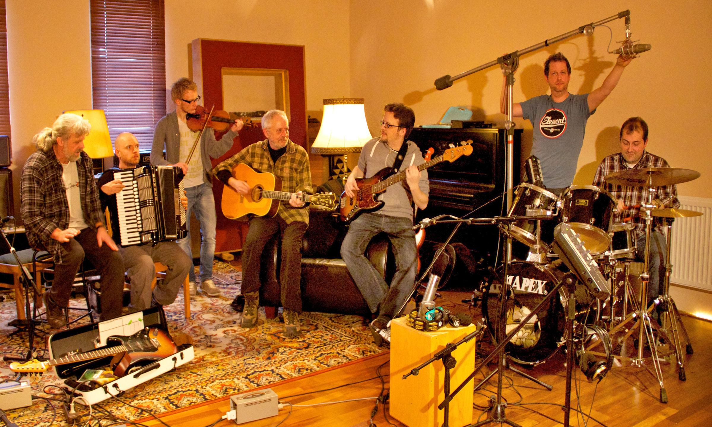 Shiregreen Band Toolhouse Studio