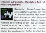 Erfreulich authentischer Storytelling-Folk