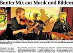 Bunter Mix aus Musik und Bildern