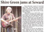 Shire Green jams at Seward